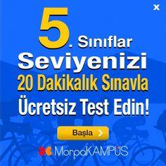 5. Sınıf Konu Anlatımları ve Testleri - Morpa Kampüs