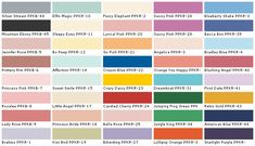 disney paint color names behr paints chip color swatch on behr paint interior color chart id=44360