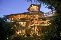 La casa más espectacular hecha ecológicamente