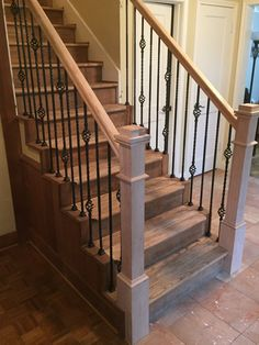 TBR Home - Venetian Stairs Force Movie, Wrought Iron Stairs, Mediterranean Style, Humble Abode, Paint Ideas, Stairways, Venetian, House Ideas, Decorating