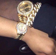 Rolex. Gold. Diamonds.
