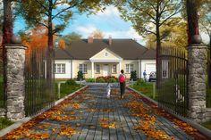 Projekt domu NAŁĘCZÓW, DM-6313, pow. uż. 138.60 m2 - Projekty domów Biuro Architektoniczne KB Projekt