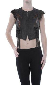 Leather Vest, Roberto Cavalli, Vest Jacket, Online Price, Best Deals, Brown, Jackets, Stuff To Buy, Women