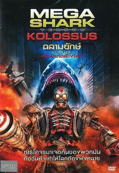 Mega Shark vs. Kolossus (2015) [DVD R0] Christopher Olen Ray, Cult B-movie Indie