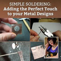 Micro Torches 101, Part 2: Torch in Action and Simple Soldering Setup - Jewelry Making Daily - Blogs - Jewelry Making Daily