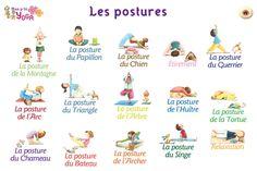 Les postures                                                                                                                                                                                 Plus