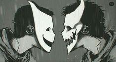 Estilo das máscaras da ANBU da vila da montanha