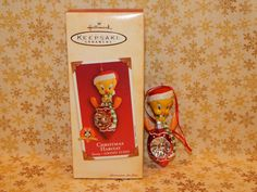 Hallmark Ornament 2002 Looney Tunes Christmas Habitat Tweety 753B New   eBay