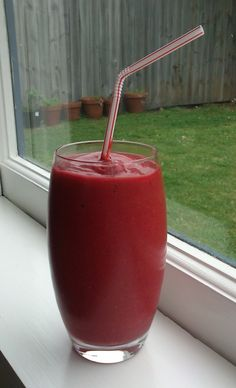 Ravishing Red Immune-Boosting Smoothie