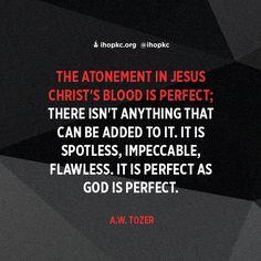 Jesus's blood never fails me! #thecross #salvation #ihopkc #theWord