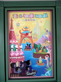 It's a Small World poster by skelley, via Flickr