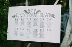 Seating Chart Wedding, Seating Charts, Our Wedding Day, Farm Wedding, Wooden Arbor, Flute, Vows, Finding Yourself, Stationery