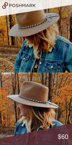9731a53cdc129 Shop Women s Brixton Tan size Medium Hats at a discounted price at  Poshmark. Description  Indie hat perfect for strolling through Nashville or  glamping in ...