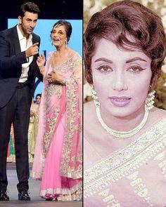 The legendary actress Sadhna still looks very good !