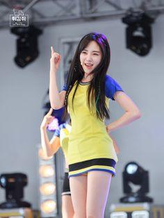 AOA Mina live 'Heart Attack' Comeback
