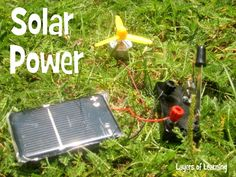 solar power energy experiments for kids with explanations of the science.