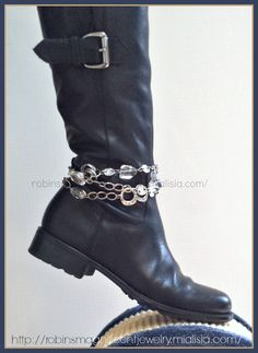 Sephira VersaStyle piece as Boot Bling.  Find me on Facebook by searching for Robins Magnificent Jewelry.