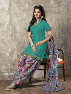 PATIALA HOUSE 2 SEMI COTTON TOP ( 2 MTRS ) ( UN STITCHED ) COTTON BOTTOM ( 3 MTRS ) GEORGETTE DUPATTA ( 2.25 MTRS ) 18 pcs set ONLY FULL SET No discounts. Shipping extra READY STOCK Regards  Manish Jariwala +919724303630 Whatsapp  +919724300380