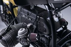 Has the Munich workshop hit on the secret of success in the custom motorcycle business? Over the last year, they've sold 20 of their 'Mark II' BMW cafe racers. Bmw Motorbikes, Cool Motorcycles, Cafe Racer Seat, Cafe Racers, Build A Bike, Bmw Scrambler, Moto Cafe, Bmw Boxer, Custom Bobber