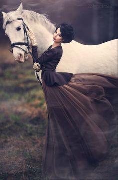 Awesome pic....Woman and horse ~ Photographer: Margarita Kareva