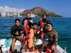 Daryl Wong a living legend spearfishing with friends #examinercom