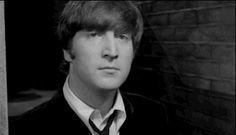 "When John's told he doesn't actually look like John Lennon at all. | ""A Hard Day's Night"""