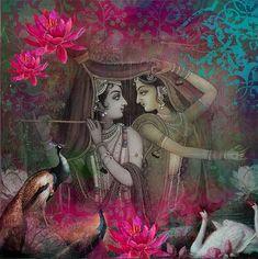 Radha & Krishna (via Jaypore.com)
