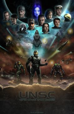 Halo: United by LeviWasTaken on deviantART