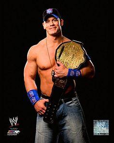 "John Cena WWE Championship Belt 2009 Posed Studio Photo (Size: 8"" x 10"") for USD12.95 #Championship Like the John Cena WWE Championship Belt 2009 Posed Studio Photo (Size: 8"" x 10"")? Get it at USD12.95!"