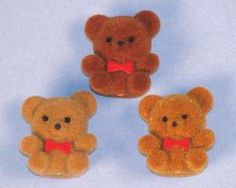 Fuzzy Bears - I love these!!! I got one from my 1st grade teacher on my first day of school ever <3 <3
