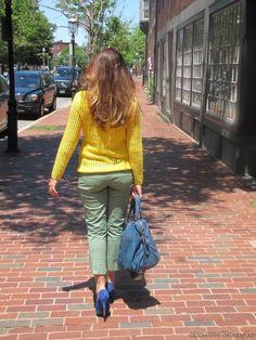 Meu Look Verde E Amarelo (2)