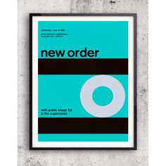 Hoxton Arthouse New Order 1989 Blue Print