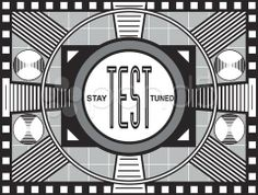 tv test pattern vector art - Google Search