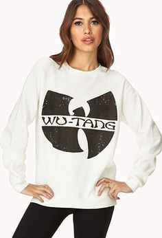 Fresh Wu-Tang Sweatshirt | FOREVER21 - love wearing this!