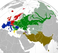 Indo-European language branches. European, Indian, and Arab, have the same origins. We are all Indo-Europeans.