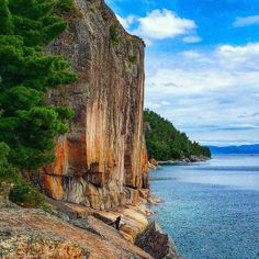 It's a bikers paradise. The Lake Superior Circle Tour is one of those epic rides. People dream of circumnavigating the world's largest fresh water lake.