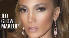 JLO GLOW MAKEUP | Jennifer Lopez Makeup Tutorial | Bronzy Glowy Makeup - YouTube