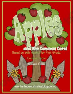 FREE Apples and the Common Core Study Unit