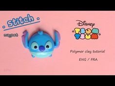 [Stop Motion] Tsum Tsum Stitch Magnet Tutorial / Tutoriel Fimo Aimant Stitch - YouTube
