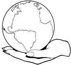 Simple Earth Coloring Pages Cute Doodle Art, Cute Doodles, Earth Coloring Pages, Best Friend Drawings, Camera Art, Free Printable Coloring Pages, Earth Day, Planet Earth, Art Drawings Sketches