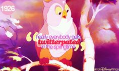 Twitterpated♡I love that word!