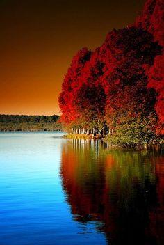 Nature (Mirage d'Automne) Beautiful Beautiful World, Beautiful Images, Gorgeous Gorgeous, Beautiful Sites, Simply Beautiful, Absolutely Stunning, Belle Photo, Amazing Nature, Beautiful Landscapes