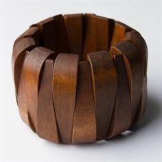 Wooden Stretch Bracelet
