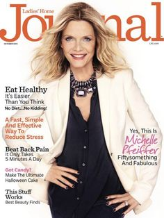 Michelle Pfeiffer covers October 2013 issue of Ladies' Home Journal