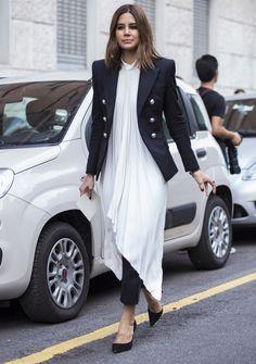 Best dressed at Milan Fashion Week spring/summer 2015: contrasts