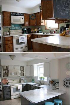 My Fixer Upper Inspired Kitchen Reveal Life KitchenHome Decor