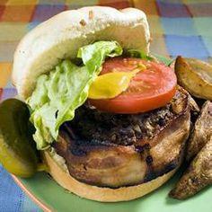 Burgers enrobés de bacon @ qc.allrecipes.ca