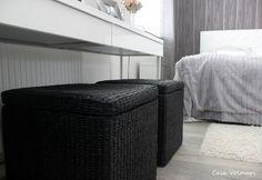 White & Gray bedroom