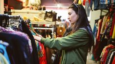 What Valuables Should I Look for at Thrift Stores? | GOBankingRates Vintage Second Hand, Cheap Clothes, Clothes For Women, Vintage Clothing Online, Online Clothes, Consignment Shops, Fast Fashion, Fashion Women, High Fashion