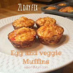 Egg & Veggie Muffins